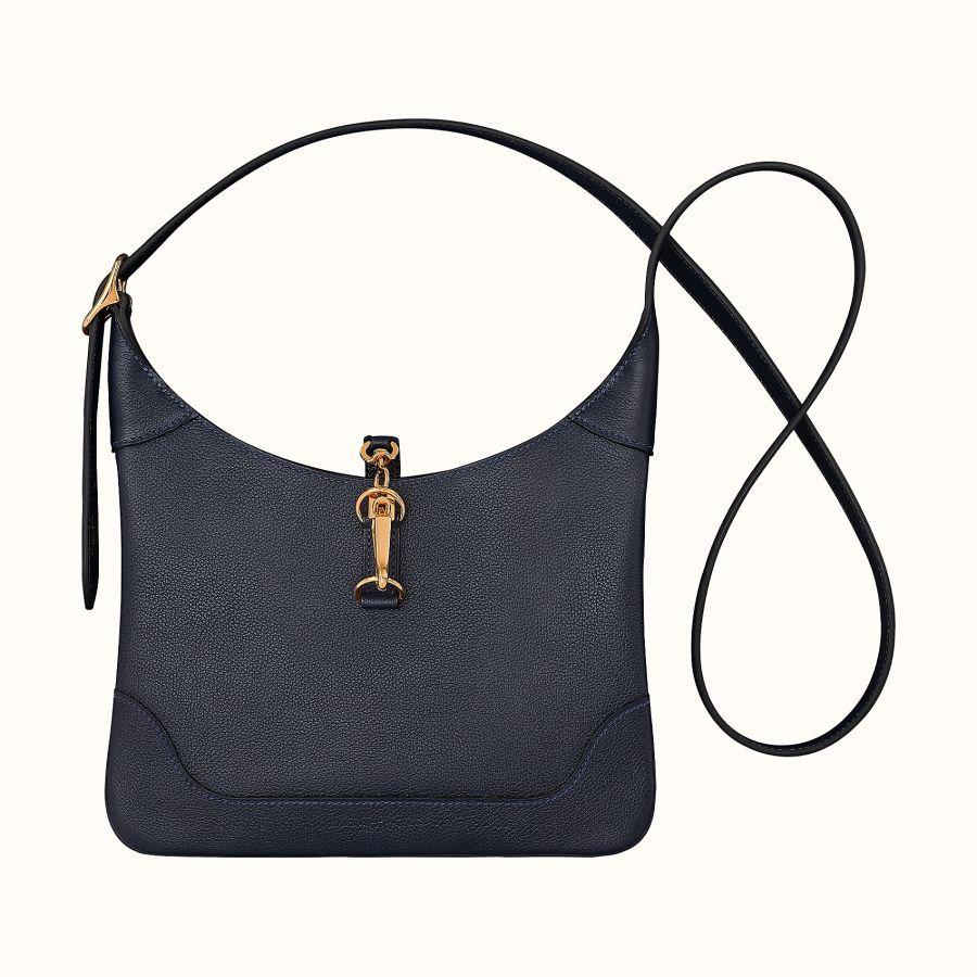 Сумка Hermes Trim Duo 24 bag (Bleu Nuit)