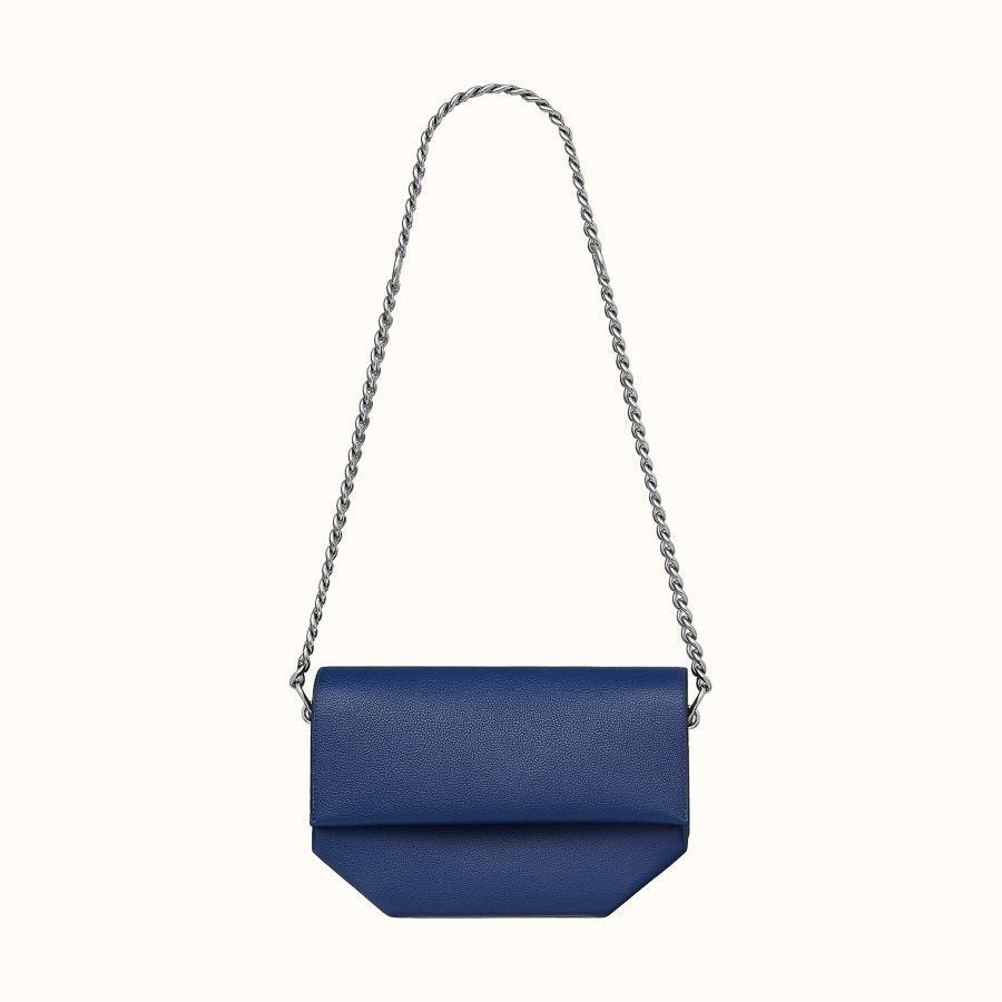 Сумка Hermes Opli chaine 24 bag (Bleu Saphir)
