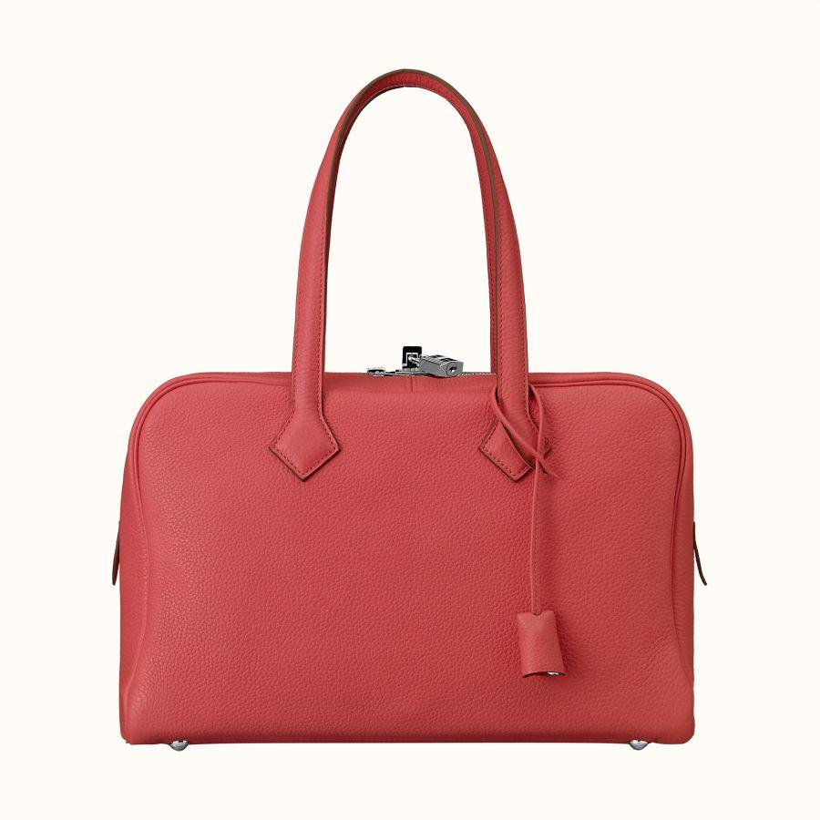 Сумка Hermes Victoria II fourre-tout 35 bag (Rose Jaipur)