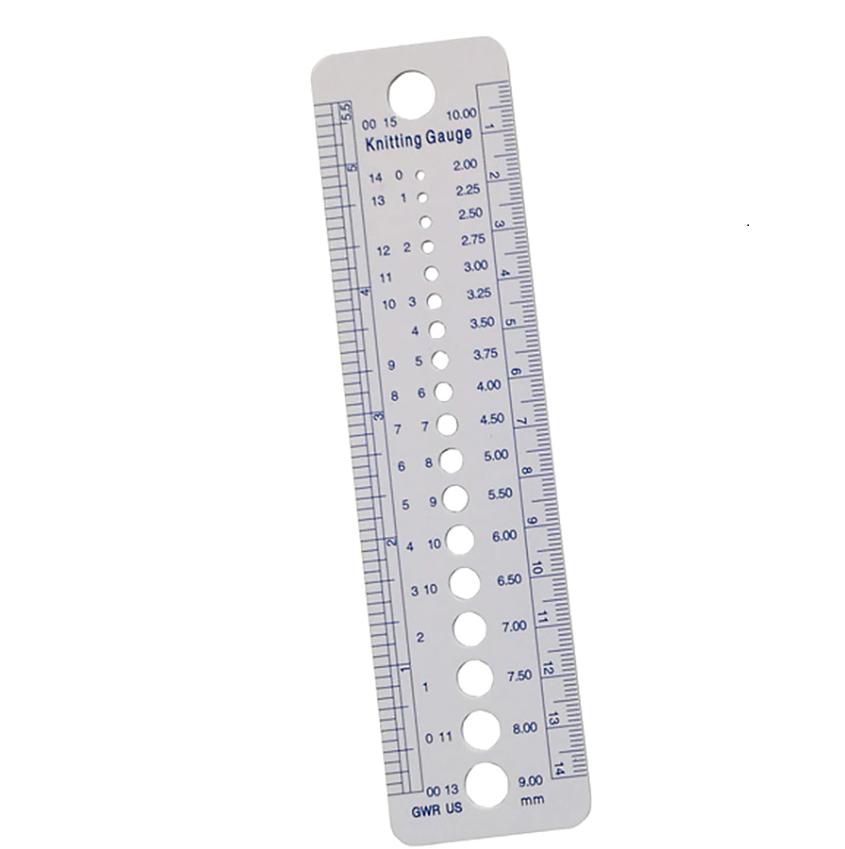 фото Линейка для измерения размера спиц пластик WGS-01