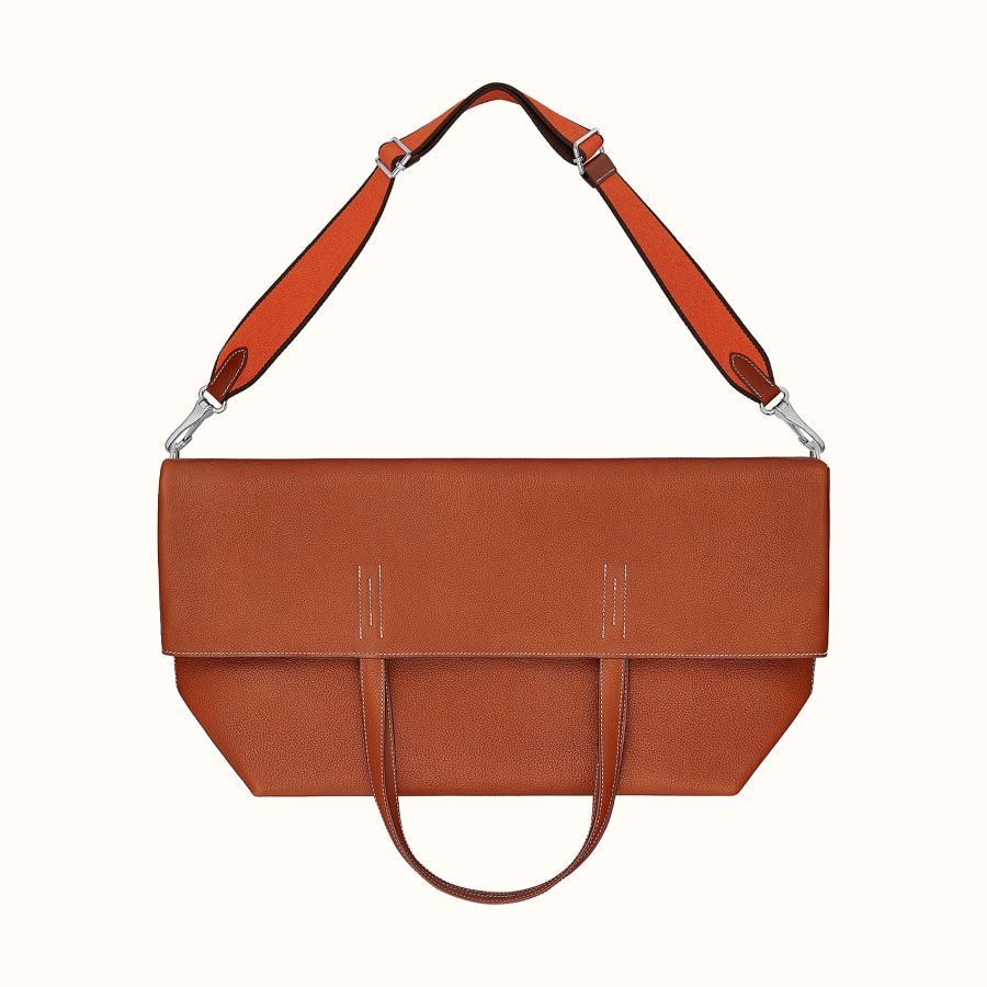 Сумка Hermes Double Sens strap maxi bag (Fauve)