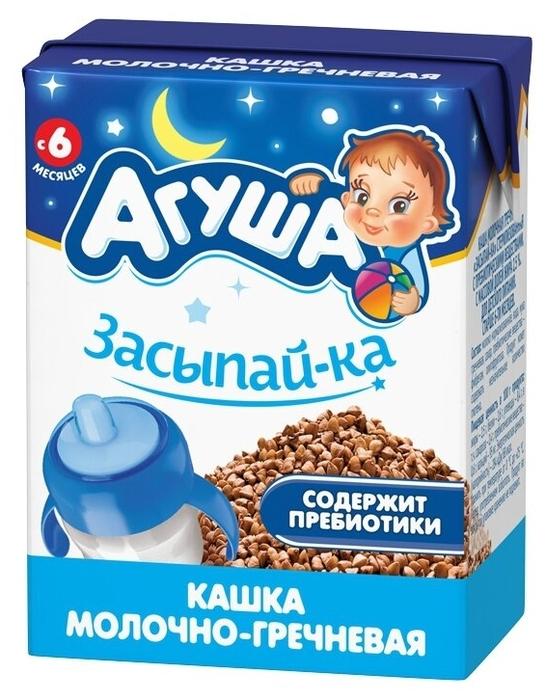 Каша Агуша молочно-гречневая 200мл т/п