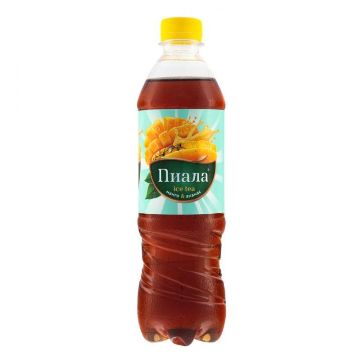 Чай Пиала 0,5л с соком Манго/Ананас/Лемогасс ПЭТ
