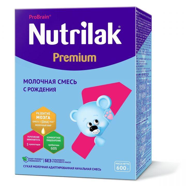Мол.смесь Nutrilak-1( с 0  мес.) адаптированная 600г