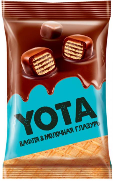 Вафли в мол.шок.глазури 40г Yota!