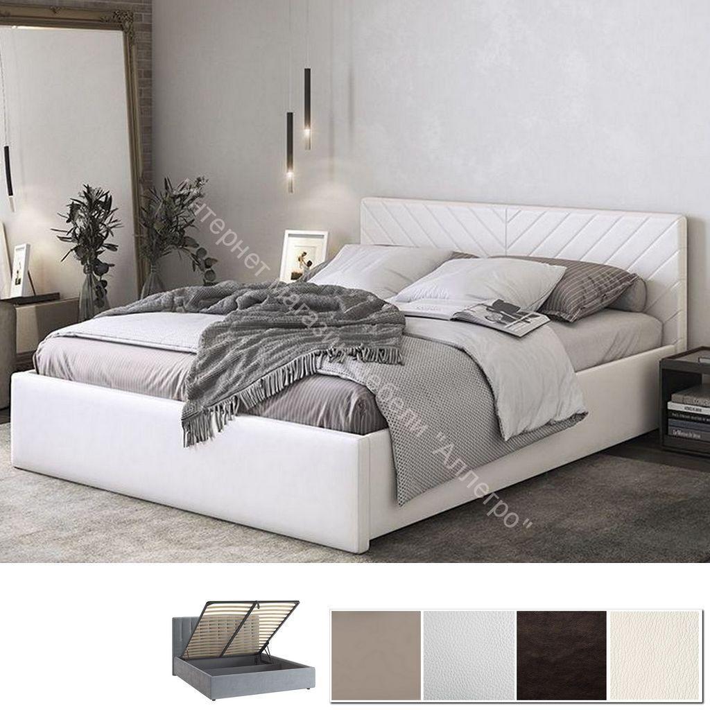 Кровать 1.6 Сандра с подъем. механизмом