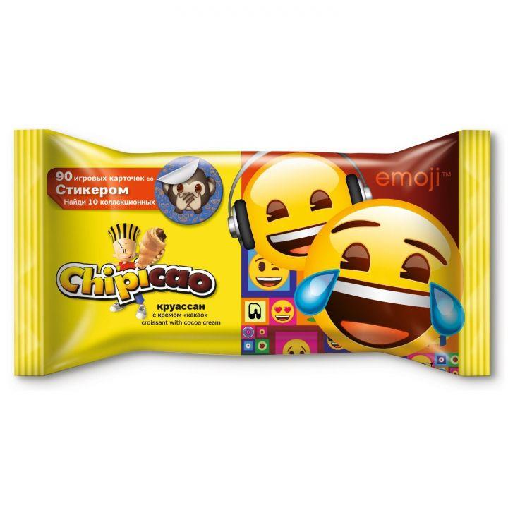 Круассан Чипикао Миди с кремом какао + игровые фишки 60г