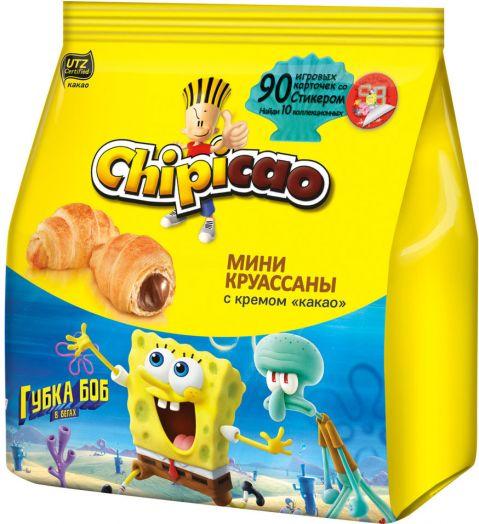 Круассан Чипикао Мини с кремом какао + игровые фишки 50г