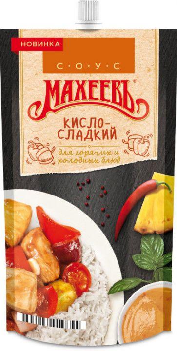 Соус деликатесный Махеевъ Кисло-сладкий 230г д/п