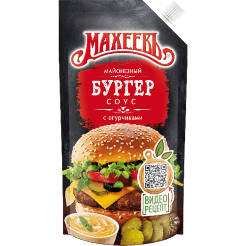 Соус майонезный Махеевъ Бургер 200г д/п