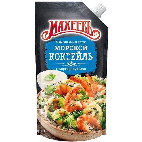 Соус майонезный Махеевъ Морской коктейль 200г д/п
