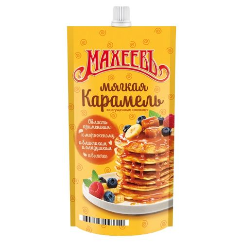 Топпинг Махеевъ Мягкая Карамель д/п 300г
