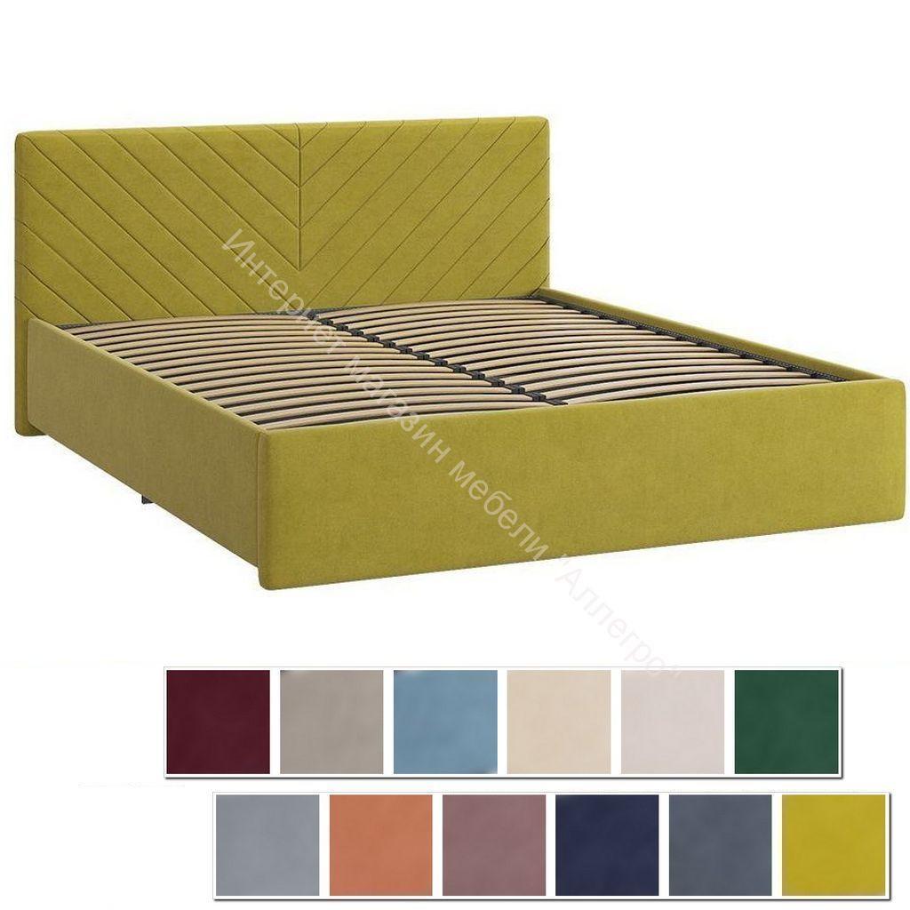 Кровать 1.6 Сандра 2 с основанием