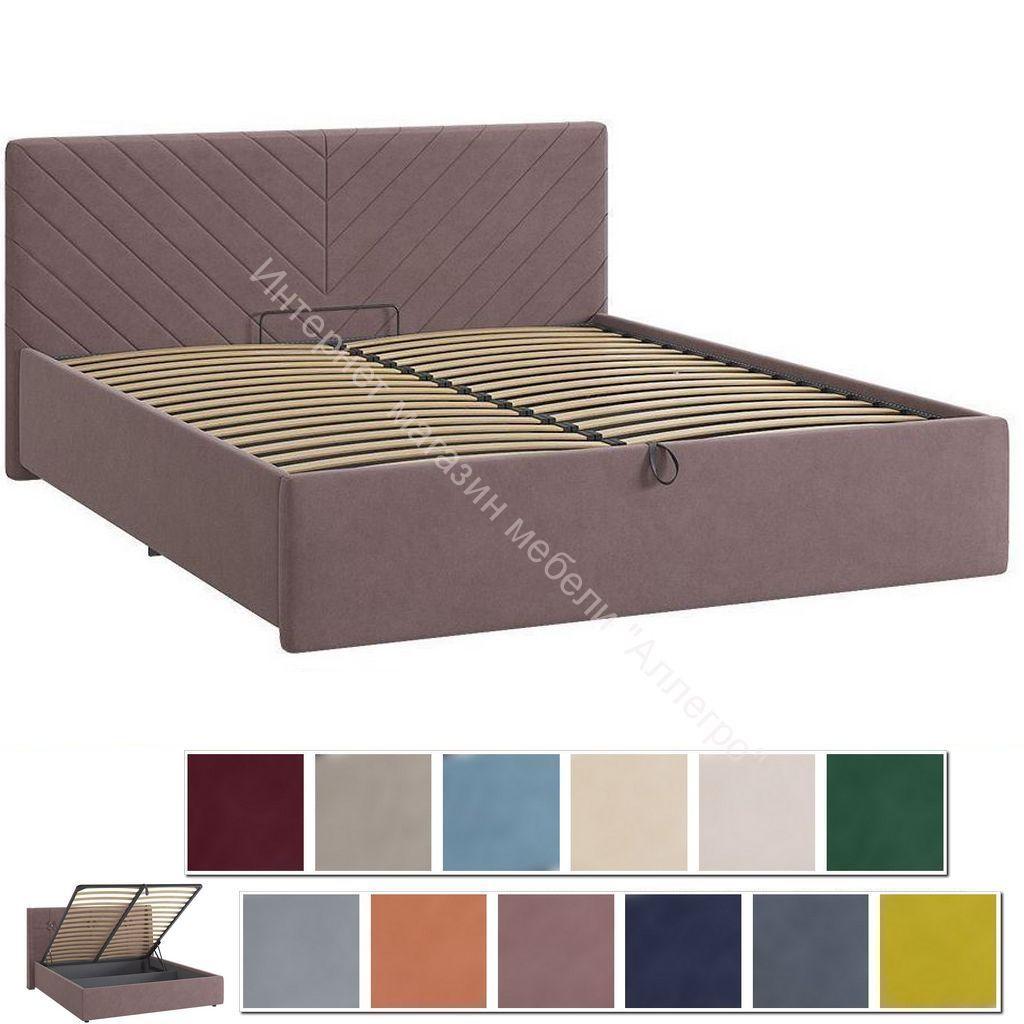 Кровать 1.6 Сандра 2 с подъем. механизмом