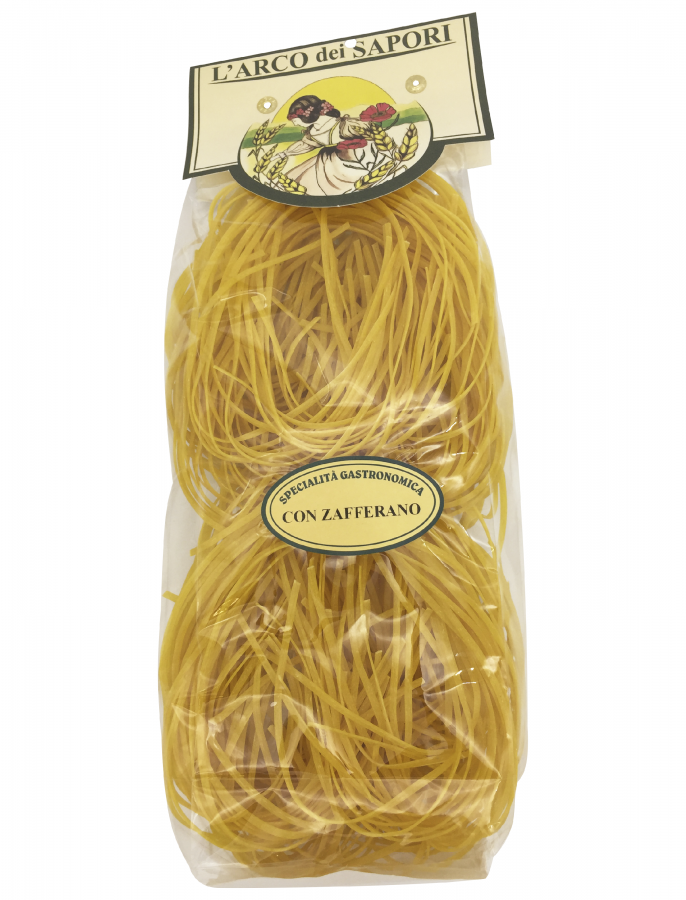 Тальолини с шафраном 250 г , Tagliolini con zafferano 250 gr.