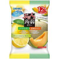 Orihiro желе лимон и дыня 12шт