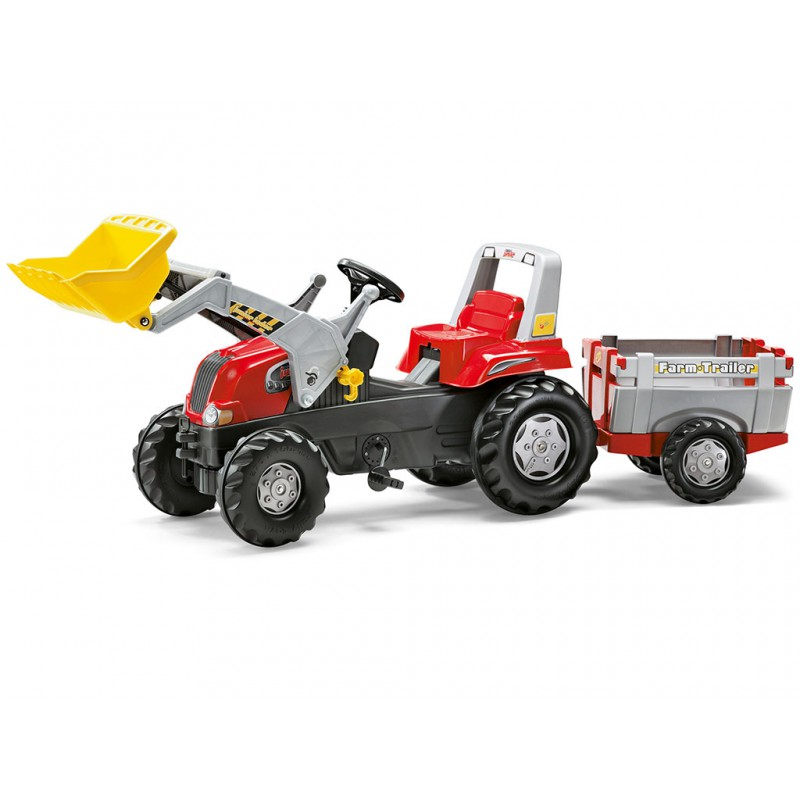 Трактор педальный Rolly Toys rollyJunior 811397
