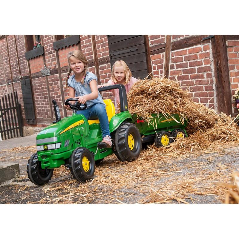 Педальный трактор Rolly Toys John Deere rollyX-Trac 3-10 лет 035632