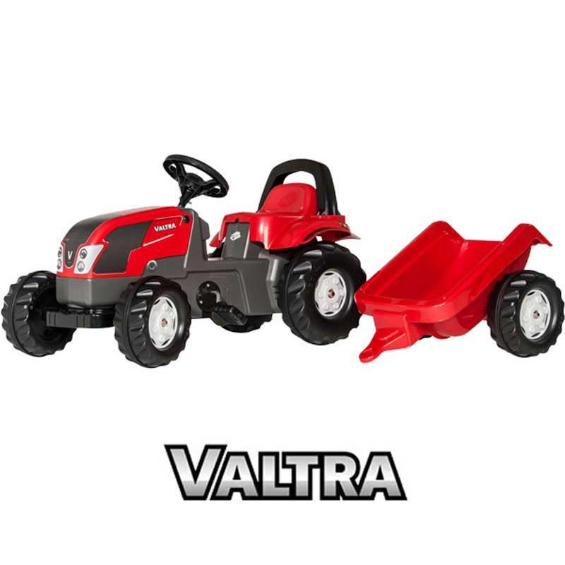 Rolly Toys Педальный трактор Прицеп Valtra 012527