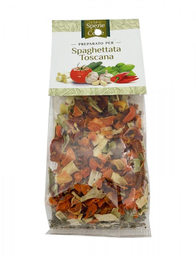Специи для спагетти Тоскана 50 г, La Corte d'Italia. Le spezie per spaghettata Toscana 50 g