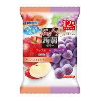 Orihiro желе яблоко и виноград 12шт