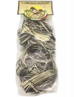 Паста клубок черно-белая 250 г, Le Matasse bianche e nere Pastificio Curti 250 gr