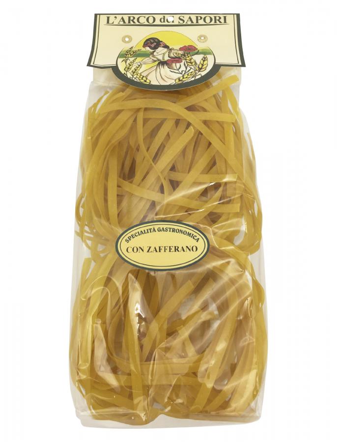 Тальятелле с шафраном 250 г , Tagliatelle con zafferano Pastificio Curti 250 gr.