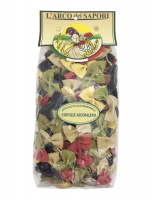 Паста бантики 5 вкусов 500 г, Farfalle Arcobaleno Pastificio Curti 500 gr