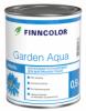 Эмаль Акриловая Finncolor Garden Aqua 2.7л Универсальная Полуматовая для Внутренних Работ Без Запаха