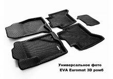 Коврики в салон на 5 мест, Euromat, материал EVA 3D