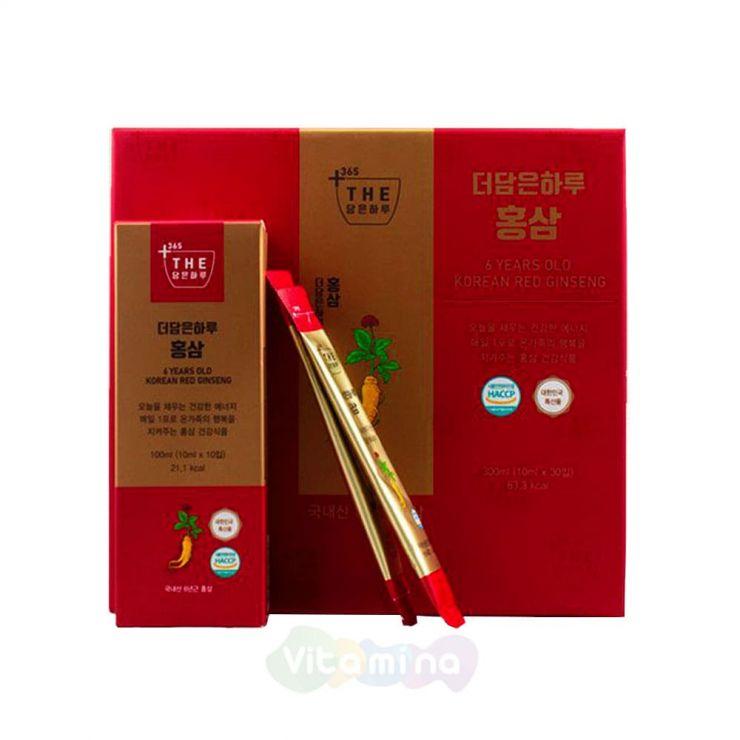 Экстракт красного корейского женьшеня, 30 шт