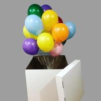 Коробка с шарами - Прекрасный подарок!