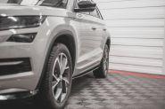 Накладки под пороги, Maxton, для Sportline и RS без брызговиков