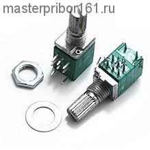 Потенциометр двойной RV097NS  50 kOm с выключателем