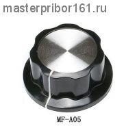 MF-A05 , Ручка карболитовая для РЭА D45мм отв. 6,0мм