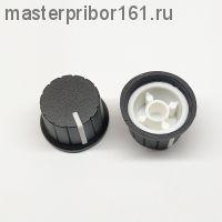 Ручка потенциометра Черно-Белая