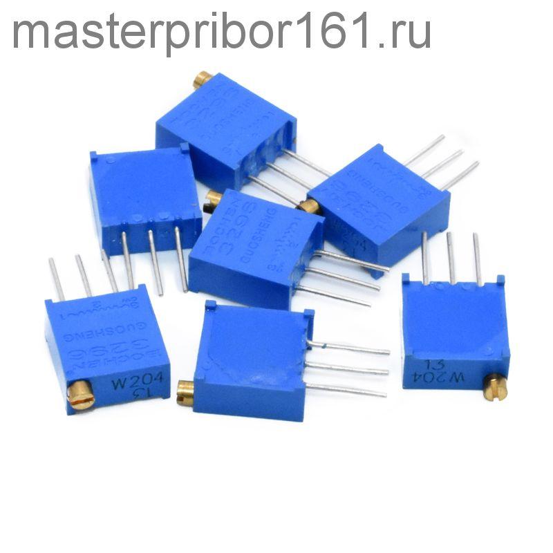 Потенциометр 3296W-100, 10 Ом