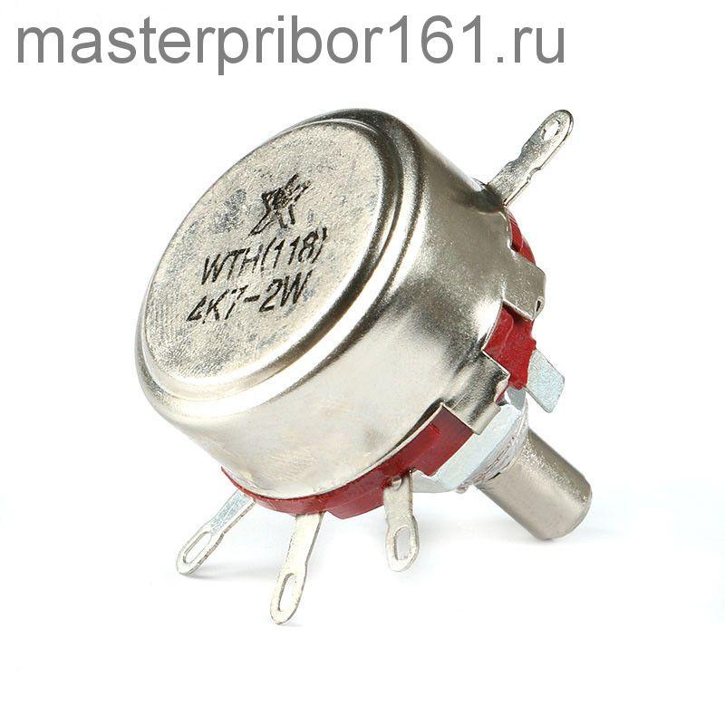 Потенциометр  WTH118   1.0 мОм