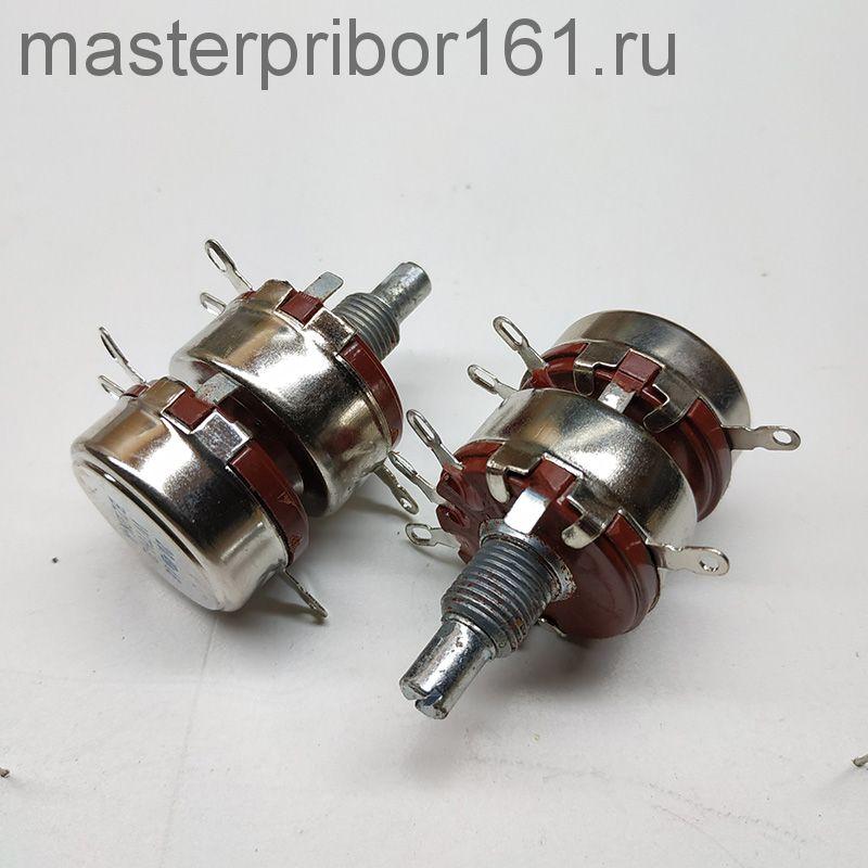 Потенциометр  WTH118 - 2     1,0 мОм