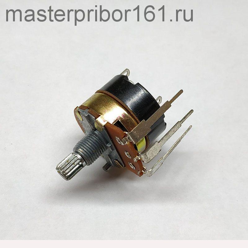 Резистор переменный (потенциометр) R2410S-2D1-B504K  500 кОм