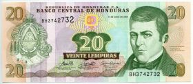 Гондурас 20 лемпир 2006