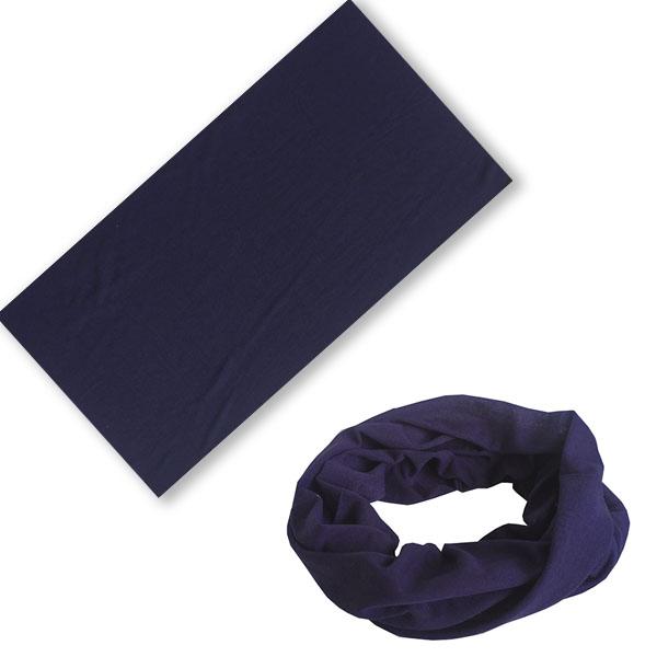 Многофункциональная бандана сапфирово-синего цвета