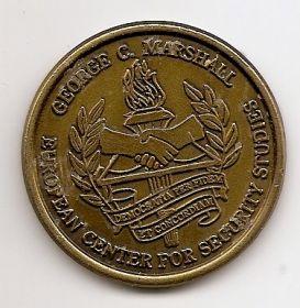 Медаль Джордж Маршалл Европейский центр Безопасности США-ФРГ