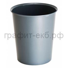 Корзина 14л Стамм серая КР56