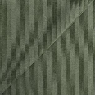 Лоскут трикотажной ткани кашкорсе - Фисташка 50*27 см.