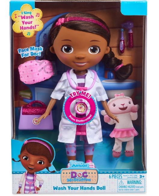 Кукла Доктор Плюшева Дисней