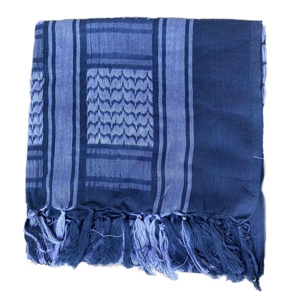Арафатка - синий мрамор