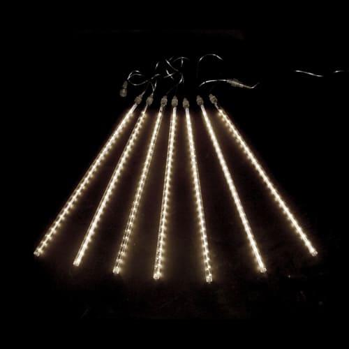 """Светодиодная гирлянда """"Тающие сосульки"""", 8 шт., цвет - белый, 50 см."""