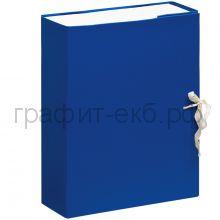 Короб архивный 8см на завязках бумвинил OfficeSpace 284719