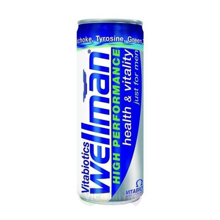 Велмен напиток энергетический, 250 мл